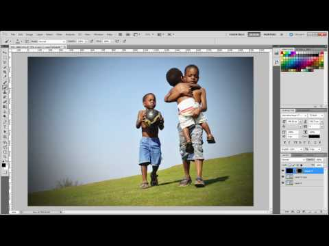 Photoshop CS5 - How to make your photos stunning in 3 easy steps in photoshop cs5