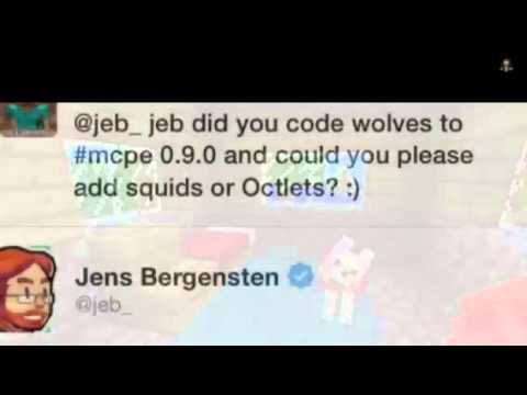 Minecraft Pe Wolves and Ocelots in 0.9.0