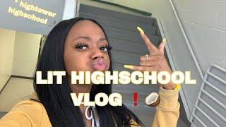 LIT HIGHSCHOOL VLOG 🥥😝 #highschoolvlog