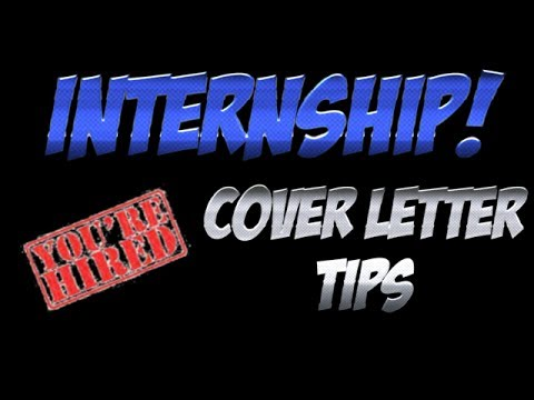 The Internship Cover Letter - Why an Internship Cover Letter is Important