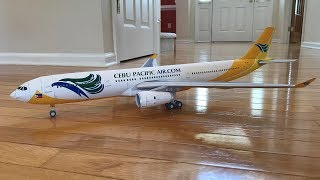 Cebu Pacific A330 Papercraft