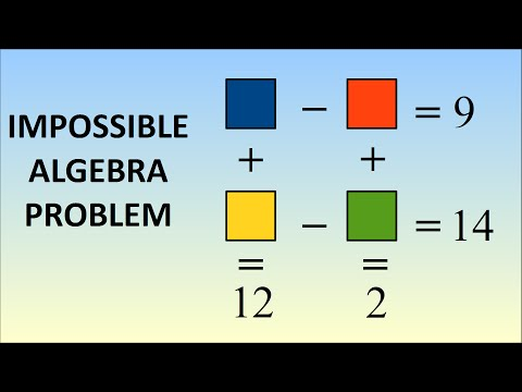Impossible Algebra Problem