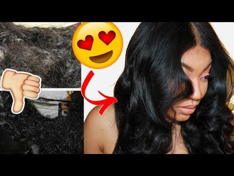 How to Bring Your Weave Back to Life!! OMG HUGE TRANSFORMATION