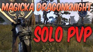 Endgame Magicka Dragonknight PvP Build - Elder Scrolls Online Update