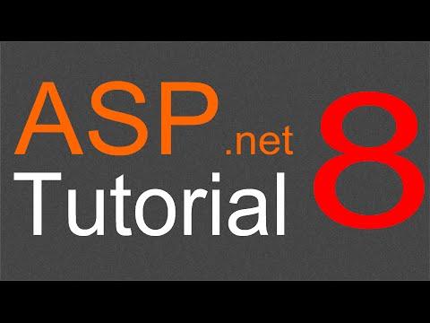 ASP.NET Tutorial for Beginners - 08 - Adding links for horizontal menu