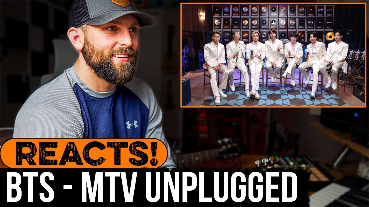 MUSICIAN REACTS to BTS - MTV Unplugged Performance