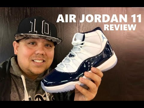 Air Jordan 11 Win Like 82  Retro Navy XI Sneaker Honest Review