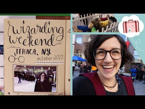 Wizarding Weekend - Harry Potter Festival in Ithaca, NY   Traveler's Notebook Vlog