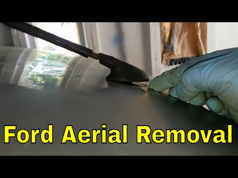 Ford Mondeo MK3 Aerial removal (Project ST220)