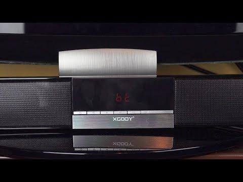 Xgody Bluetooth TV Soundbar w/Built-in Subwoofer Review
