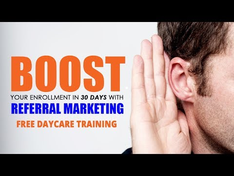 BOOST YOUR ENROLLMENT IN 30 DAYS WITH REFERRAL MARKETING