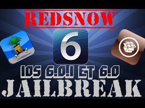 | FR | iOS 6 et 6.0.1 Jailbreak | iPhone 3GS / 4 / iPodTouch 4G Untethered / Tethered Redsn0w |