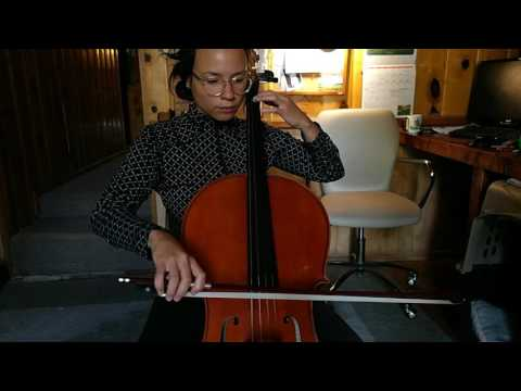 MONTH 5: First cello video, hurray!