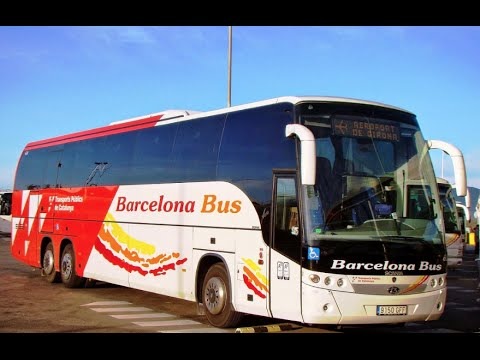 How to Bus From Girona Airport to Barcelona