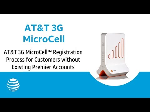 AT&T 3G MicroCell™ Registration Process for Customers without Existing Premier Accounts