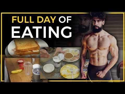 Full Day of Eating | Indian Bodybuilding Diet Plan