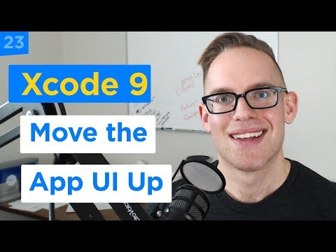 iPhone Apps 101 - How to Move a UITextField View When the Keyboard Appears in Swift 4 (23/29)