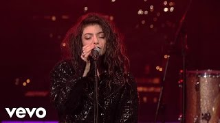 Lorde - Bravado (Live On Letterman)