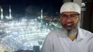 Dr zakir naik new latest bayan new in Saudi Arabia