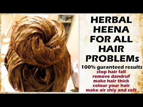 how to turn white hair to black naturally   henna hair pack for grey hair   white hair remedy herbal