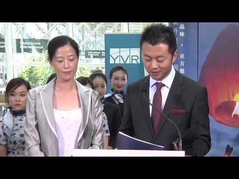best Premier welcomes flights between YVR and Shanghai 2014