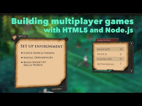 Building multiplayer game with JavaScript