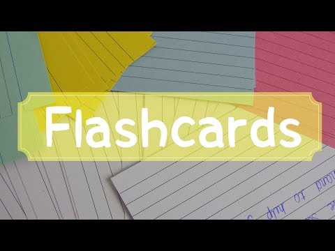 HOW TO MAKE THE PERFECT FLASHCARDS/ REVISION CARDS| Floral Sophia