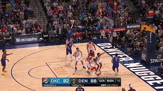 4th Quarter, One Box Video: Denver Nuggets vs. Oklahoma City Thunder