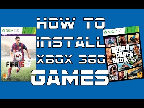 How To Install Xbox 360 Full Games NON-JTAG USB *Voice Tutorial*