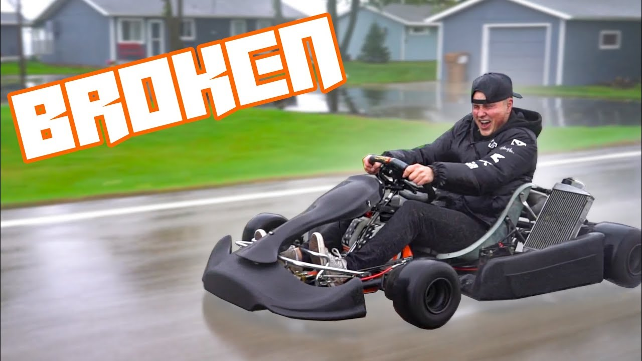 NEW Shifter Kart in the Rain!! (Already broken)