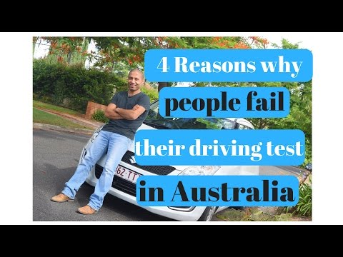 4 reasons why people fail their driving test in Australia
