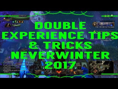 A Hero's Guide to Double Experience - Neverwinter December 2017