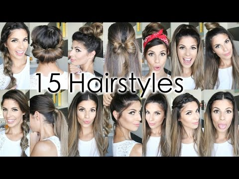 15 Back To School Heatless Hairstyles