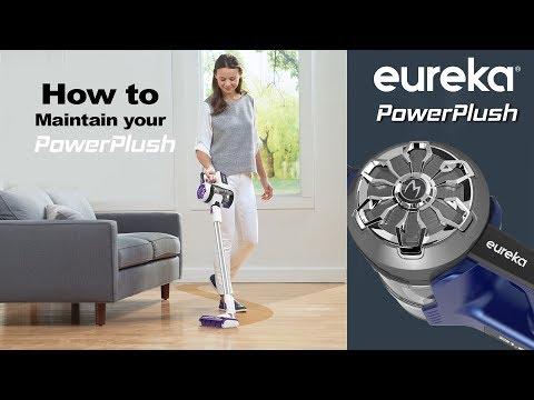 Easily maintain your Eureka PowerPlush.
