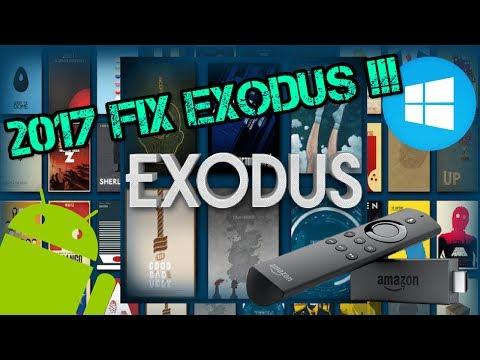 Kodi - EXODUS New URL Firestick, Windows, Mac, Android, IOS + FIX (2017)