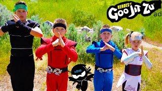 Heroes of Goo Jit Zu!  Ninja Kidz TV