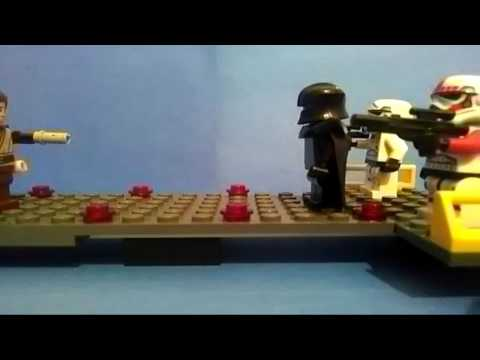 LEGO double bladed lightsaber test