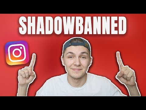 HOW TO GET UN-SHADOW BANNED ON INSTAGRAM