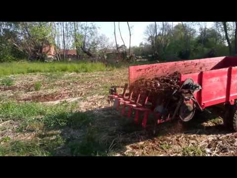 Modification to manure spreader