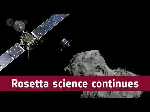 Rosetta science continues