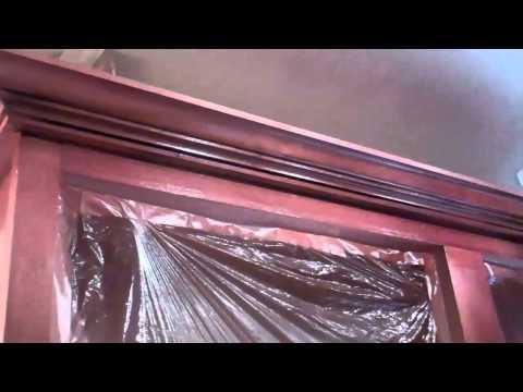 Kitchen Cabinet Re-facing Alder with glaze