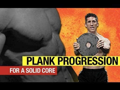 Plank Progression - From Rookie to RIPPED ABS in 7 Minutes with Planks!