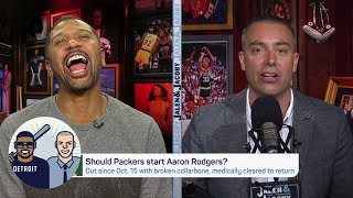 Should Packers start Aaron Rodgers with a slim chance to make playoffs? | Jalen and Jacoby | ESPN