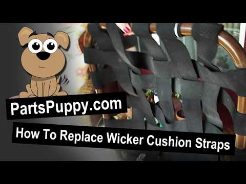 How to Replace Wicker Cushion Straps