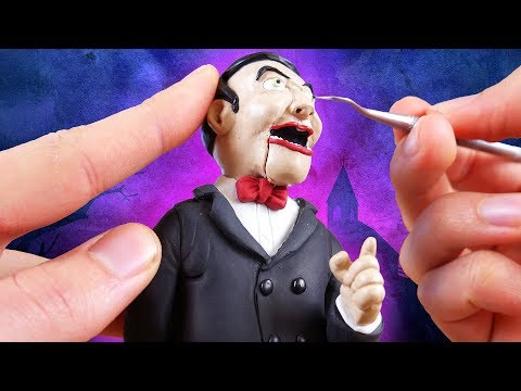 Making Slappy in Polymer Clay!