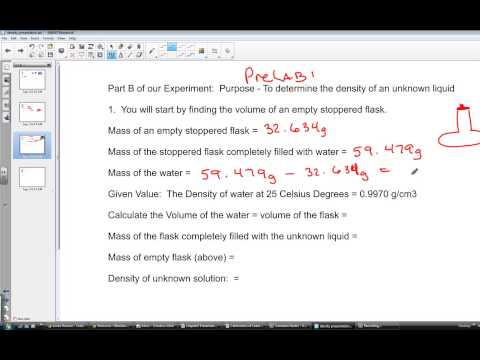 Calculating Density of an Unknown Liquid and Unknown Solid