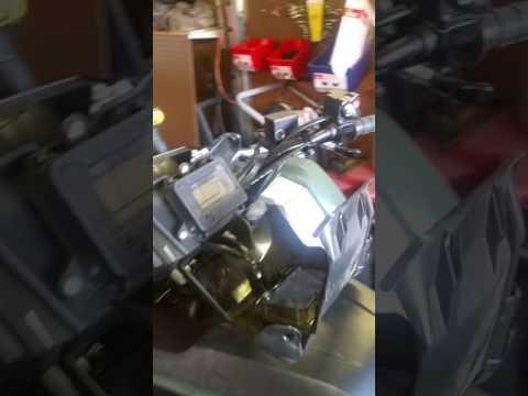 Honda foreman- replacing key ignition