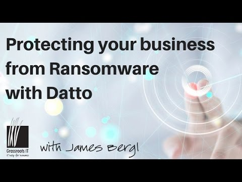 Protecting your business from Ransomware with Datto