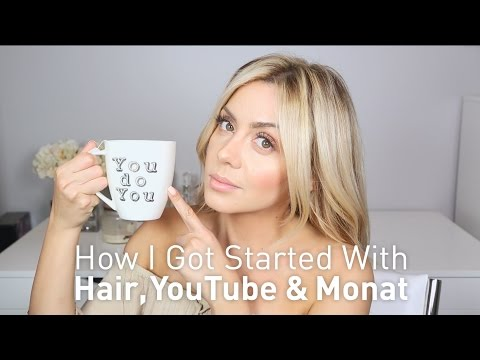 How I got Started With Hair, YouTube and Monat