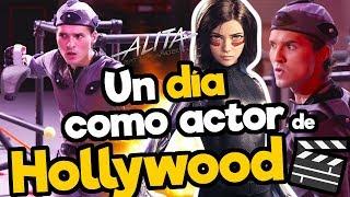 Download Un dia como ACTOR de HOLLYWOOD !!/ALITA BATTLE ANGEL/ Memo Aponte Video